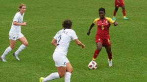 2018 AWCON: Grace Asantewaa calls for focus after defeat to Zambia in a friendly