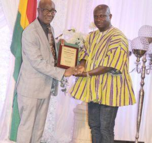 Medeama SC president Moses Armah honoured in Canada