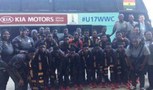 Black Maidens land in Uruguay ahead of FIFA U-17 Womens's World Cup