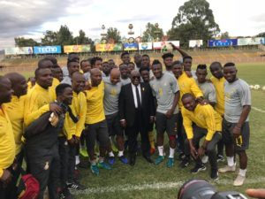 Nana Addo challenges Black Stars to beat Ethiopia on Sunday