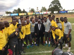 2019 AFCON Qualifiers: Prez.  Akuffo Addo call on Black Stars to repeat 5:0 defeat against Ethiopia