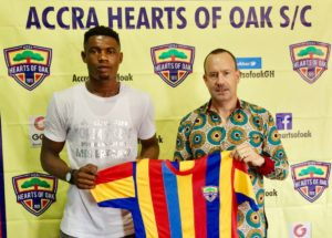 OFFICIAL: Hearts of Oak complete Richmond Ayi signing
