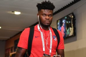 Thomas Partey's Atletico Madrid to face Juventus in last 16 of Champions League
