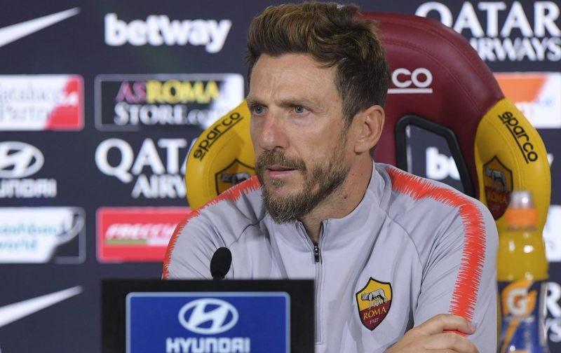 Furious Di Francesco blasts Roma stars following Cagliari collapse