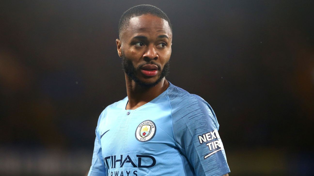 Police reviewing alleged racial abuse against Manchester City's Raheem Sterling