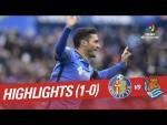 Highlights Getafe CF vs Real Sociedad (1-0)