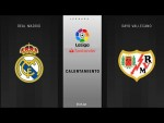 Calentamiento Real Madrid vs Rayo Vallecano