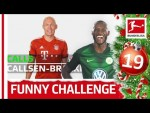 Player Spelling Challenge with Robben, Volland & Co. - Bundesliga 2018 Advent Calendar 19