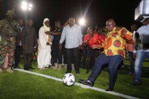 Akufo-Addo commissions Lord's Wembley Plus mini stadium