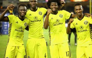 Ghanaian quartet named in Columbus Crew roster for 2019 season