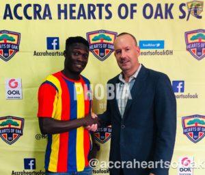 Dominic Eshun's agent clarifies his move to Hearts of Oak