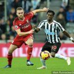 Christian Atsu Newcastle United Fall To Chelsea FC