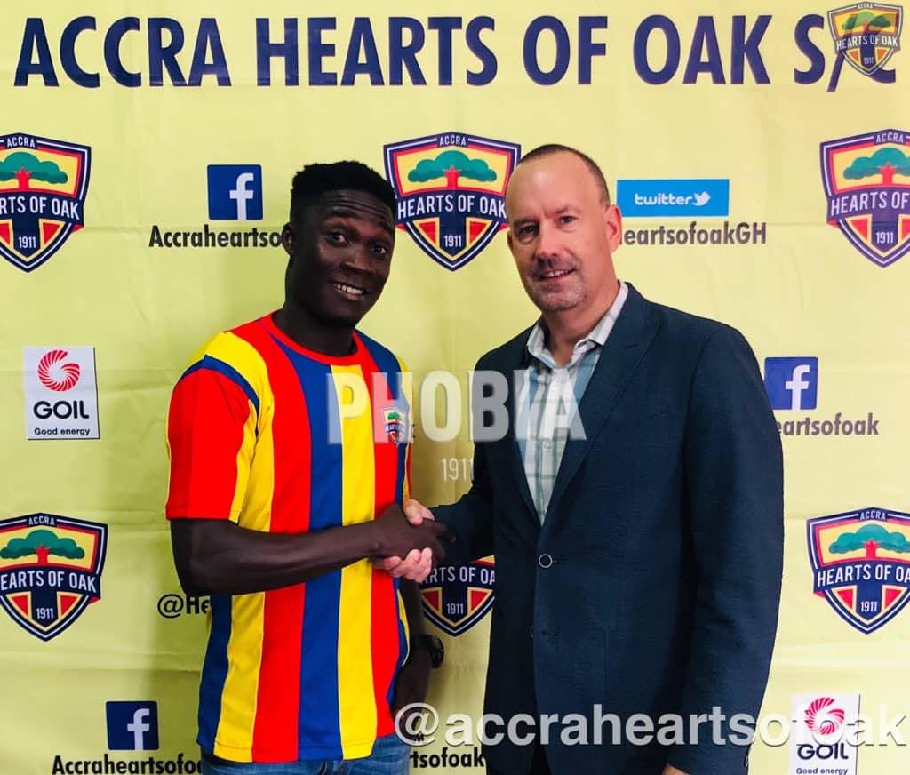 Dominic Eshun Joins Hearts of Oak on loan