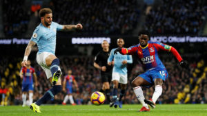 Crystal Palace defender Jeffrey Schlupp hails 'special' win over Manchester City