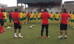 Black Meteors opponents Togo to train at Baba Yara Stadium today ahead of AFCON U-23 qualifier