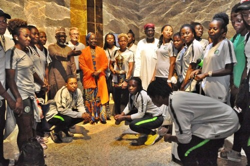 Dangote award Super Falcons with 50 million Naira for winning AWCON
