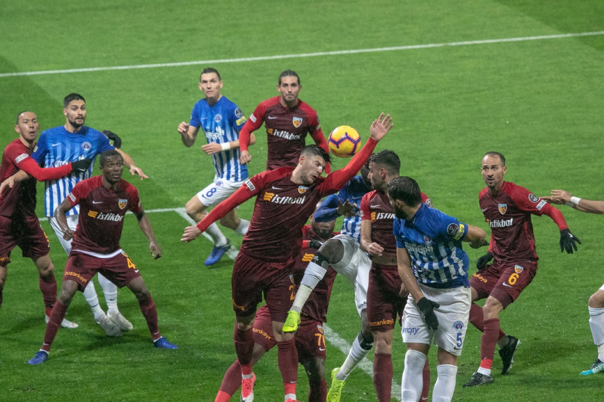 Mensah scores to give Kayserispor shock win over Kasimpasa, Asamoah Gyan benched
