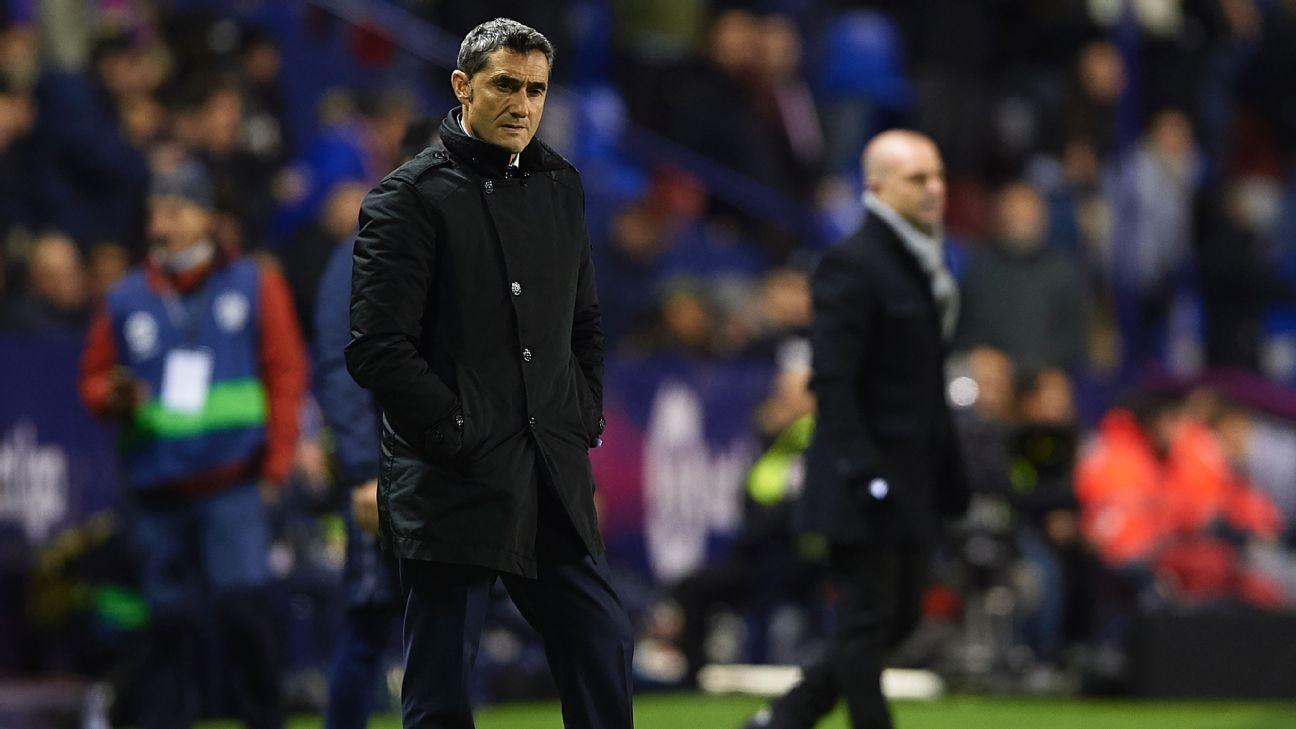 Barcelona boss Valverde wants replacement for Sevilla-bound Munir