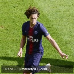CHELSEA approaching Adrien RABIOT through majestic offer