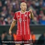 BAYERN MUNICH - Robbenis lining up a move to J-League