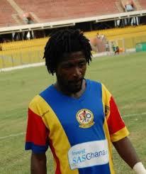 Great Olympics sign ex-Hearts striker Edward Affum