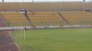 NSA Director leads clean-up exercise at Baba Yara Stadium ahead of Coton Sport clash