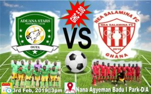 Aduana Stars set to host NEA Salamina in a club Friendly