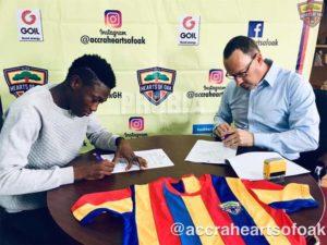 Hearts of Oak Announce Manaf Umar Signing