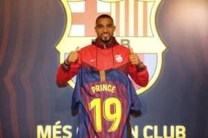 Kevin Prince Boateng's home in Barcelona burgled
