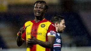 Adbul Osman joins Championship side Falkirk until end of season
