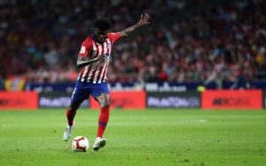Atletico Madrid hails Thomas Partey's inclusion in CAF's 2018 Best team