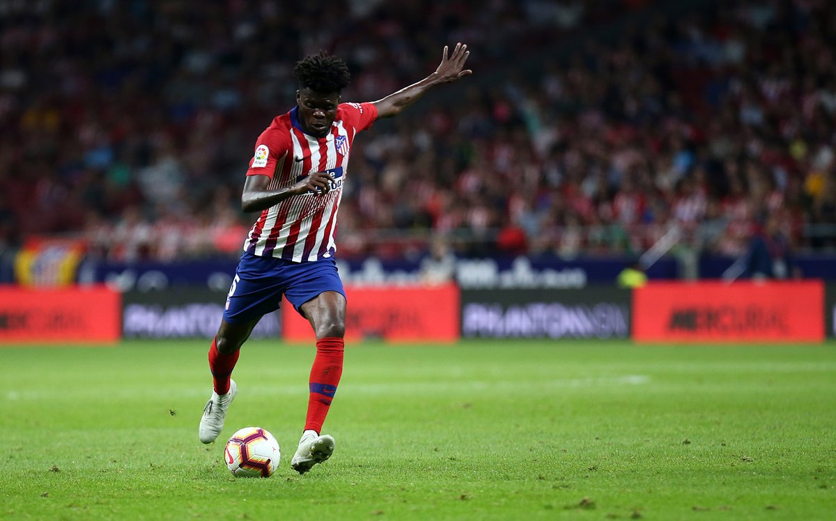 Thomas Partey in line to start for Atletico Madrid against Getafe on Sunday