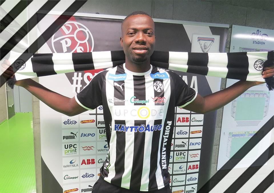 Ghanaian defender Ignatius Adukor joins VPS