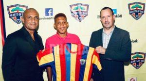 Ibrahim Larry Sumaila completes Hearts of Oak move