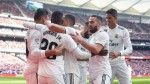Real Madrid leapfrog Atletico as Casemiro, Ramos, Bale clinch derby victory