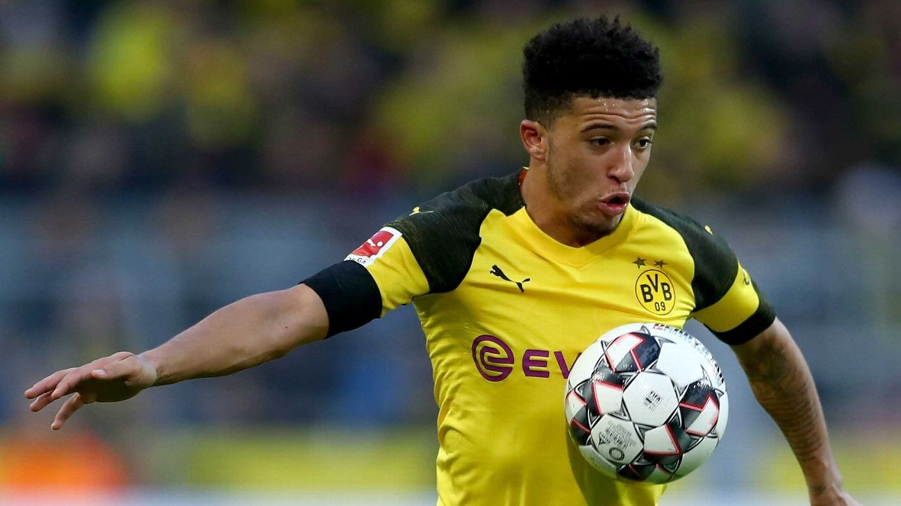 Jadon Sancho: England's talented youngsters motivated by desire to provide for families