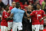 Balotelli mocks Manchester United's Champions League defeat