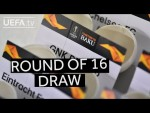 2018/19 UEFA Europa League round of 16 draw