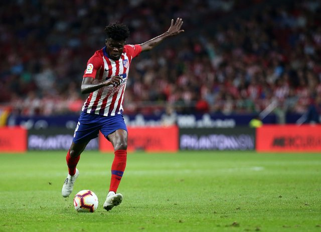 Thomas Partey sent off as Atletico Madrid lose to Real Madrid