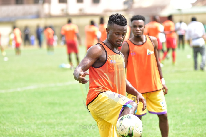 Medeama SC ends relationship with defender Amos Korankye