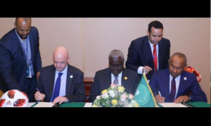 Fifa, Caf and African Union sign historic memorandum of understanding on education, anti-corruption and safety