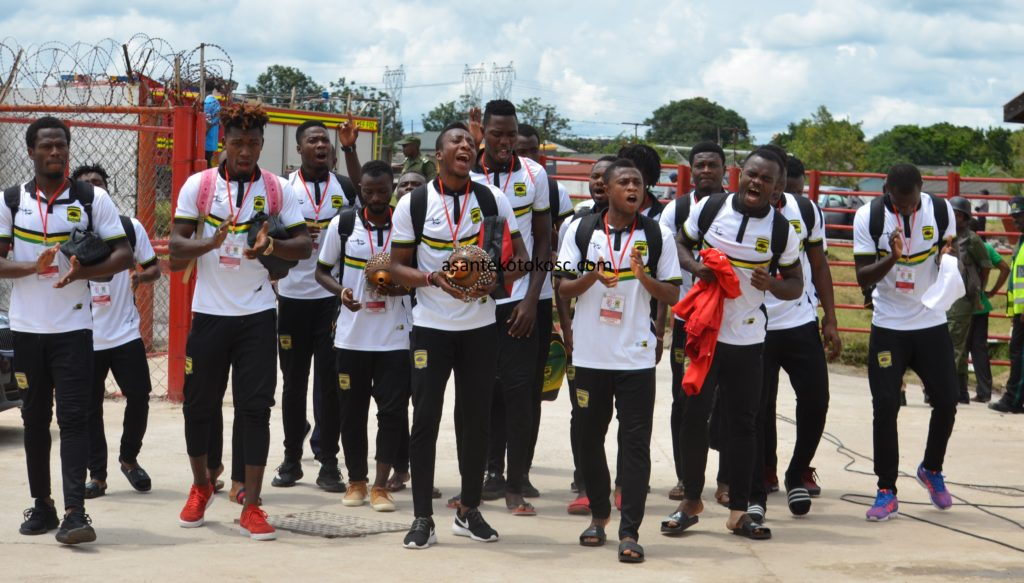 Asante Kotoko depart to Zambia ahead of Zesco clash