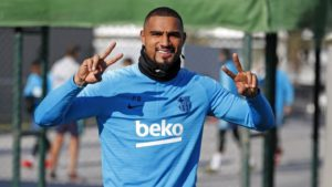 Ghana forward KP Boateng pays a fan the money he spent to sign him in fantasy football