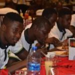 Dr.Kwame Kyei holds dinner with Kotoko SC players