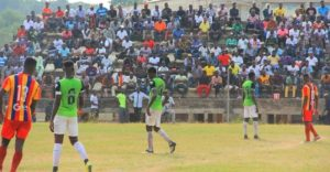 Sekondi Hasaacas - Hearts friendly record GHS 5,295 as gross