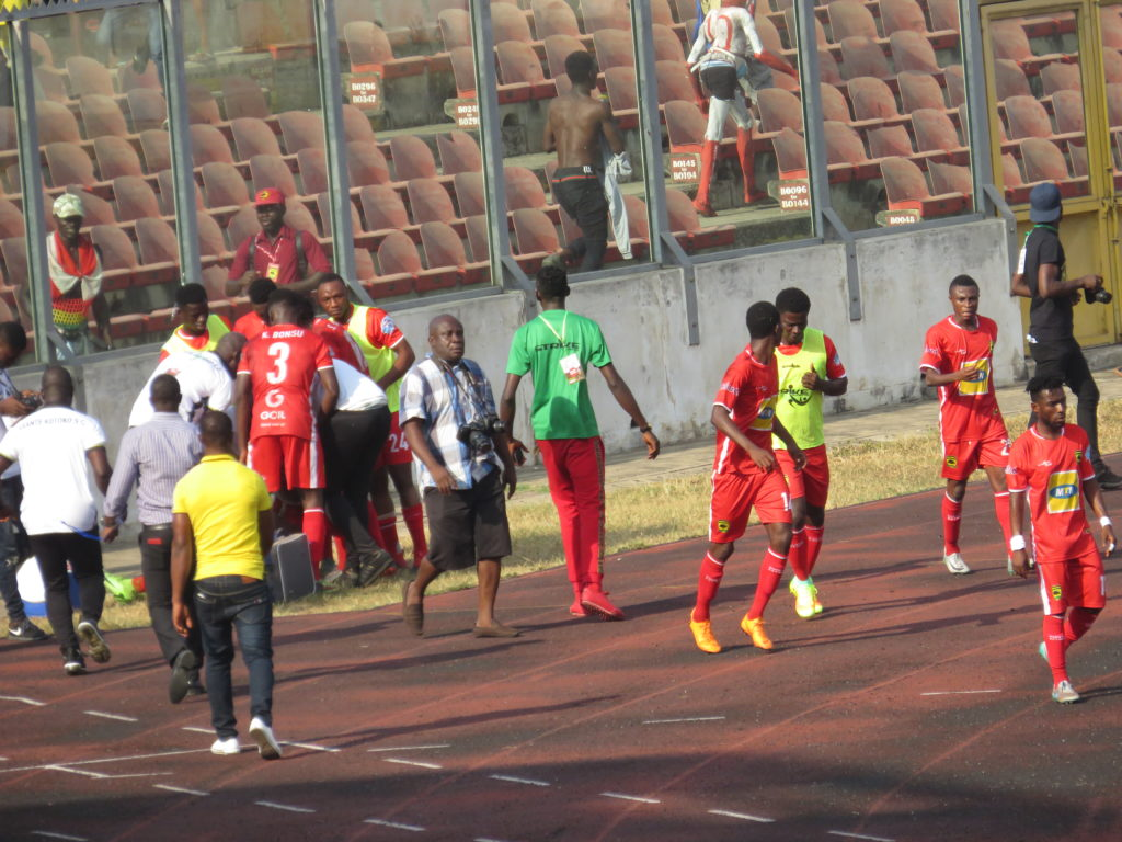 Former Kotoko goalie place bet on Kotoko ahead of Nkana FC game