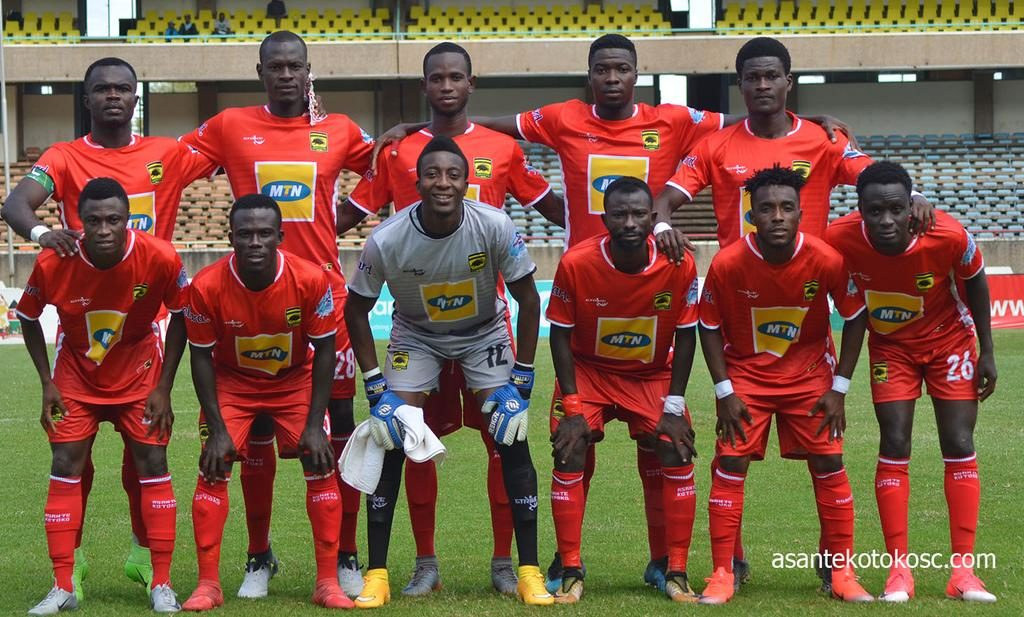 CAF CC: Asante Kotoko SC name squad ahead of Nkana FC game in Zambia