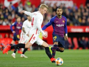 KP Boateng left out of Barcelona squad to face Sevilla