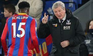 Crystal Palace boss Roy Hodgson lauds 'fantastic' Jeffery Schlupp