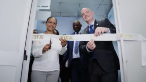 FIFA President opens regional development office in Addis Ababa